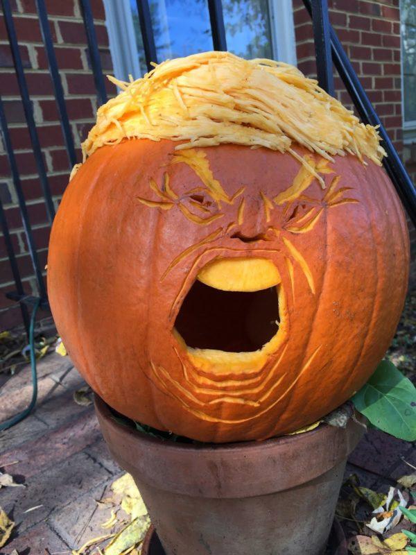Hoffentlich bleibt er ein Halloween-Monster und wird nicht auch noch US-Präsident!