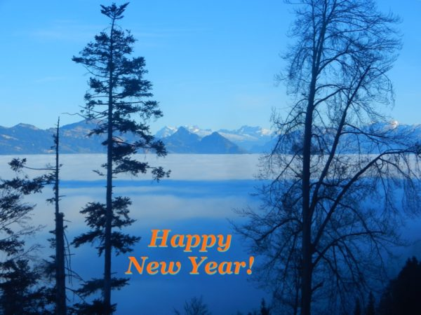 Ich wünsche allen schöne Aussichten und ein glückliches Neues Jahr! — I wish you all nice views and a happy new year!